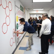 Nikhil Badlani Foundation Youth Advisory Board Unveils Mural at West Orange High School