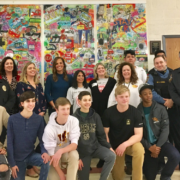 "Watchung Hills Regional High School Students Unveil ""If it Saves Just One"" Mural"